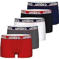Umbro Boxer UMB/1/BCX5 - Lot de 5 - Caleçon Boxeur - Homme