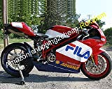Hot Sales,Cowling Aftermarket Kit For Ducati 749 999 05 06 749S 999S 749R 999R 2005 2006 FILA ABS Motorcycle Fairing (Injection molding)