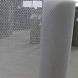 Schutznetz Kunststoffnetz, Sicheres Zuhause Außentreppe Balkon Kinder Haustier Katze Hund Absturzsicherung Netz (Technische Daten: Rasterabstand 0,8 cm) (Farbe: Weiß) (Size : 0.5mx1m)