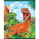 Unique Party 58303 - Pochettes Cadeau - Fête à thème des Dinosaures - Paquet de 8