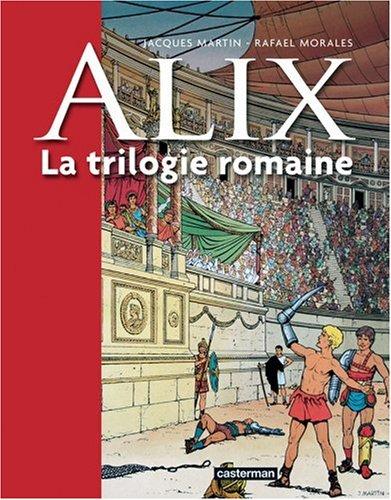 ALix, la trilogie romaine, Tome 1 : La griffe noire