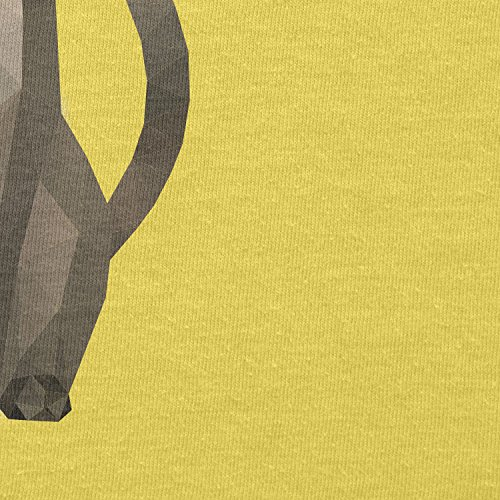 TEXLAB - Poly Cat - Herren T-Shirt Gelb