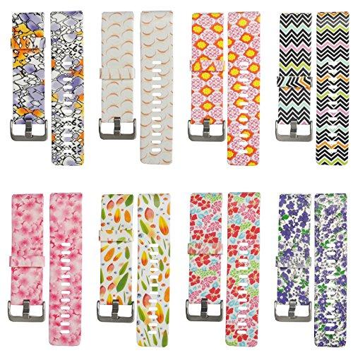 Many Designs Sport Silicone Replacement Wristband Band Strap For Fitbit Blaze Smart Watch Small/Large