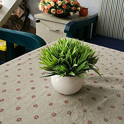 KXZZY Home decorazioni ornamenti floreali di emulazione Mini Kit di vasi con piante verdi , bacino fare vecchie piante acquatiche.