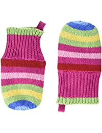Toby Tiger Knitted Mitten Bold Girl's Gloves