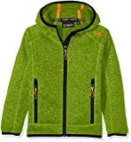 CMP Jungen Jacke Strickfleece Lime Green-Antracite 116