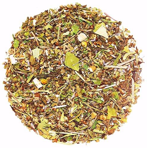The Indian Chai - Tulsi Good Sleep Tea|45 Cups|With Chamomile, Ashwagandha, Gotu Kola & Lavender|100g
