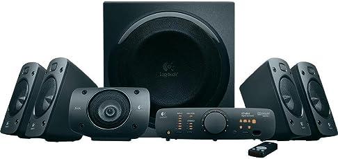 Logitech Z906 3D Stereo Lautsprecher THX (Dolby 5.1 Surround Sound und 1000 Watt Spitzenleistung/500 Watt RMS) schwarz