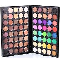 Sombras de Ojos, TOFAR 80 colores paleta de sombra de ojos Profesional eyeshadow palette Paleta de Maquillaje Cosmética con Color Cálido y Frío