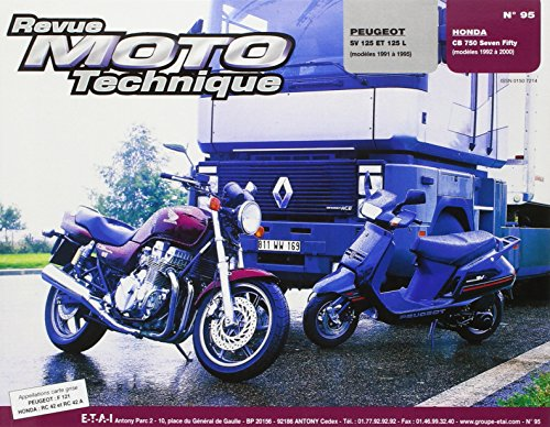 REVUE MOTO TECHNIQUE NUMERO 95 : PEUGEOT SCOOTER SV 125