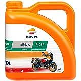 REPSOL Motorolie Moto Rider 4T 10W-40 voor motorfiets, 4 l