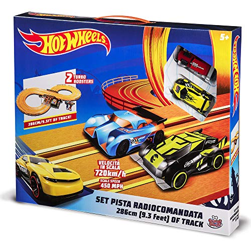Grandi Giochi- Pista Hot Wheels 286 Cm, Multicolore, GG00690
