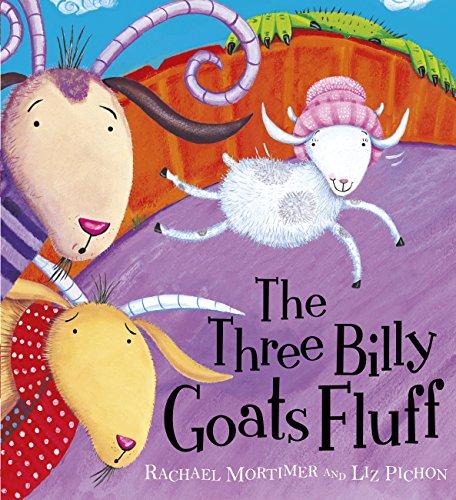 The Three Billy Goats Fluff (Topsy-turvy Tales) (English Edition) (Farm Fluff)
