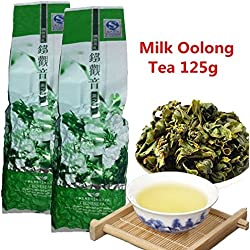 Großhandel Jin Xuan Milch Oolong Tee 125g (0.28LB) Hohe Qualität Tiguanyin Milch Oolong Health Care Milch Tee Abnehmen Tee Green Food