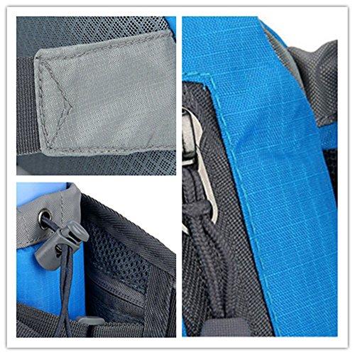 5 All Sling-Rucksack Sling Bag Chest Pack Taschen HANDY Tasche Outdoor Sports Camouflage Trekkingrucksack als Radfahr Jogging-Rucksack Kettle Paket Rosa E