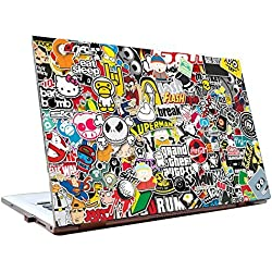 JunkYard Laptop Skins 15.6 inch - Stickers - HD Quality - Dell-Lenovo-Acer-HP
