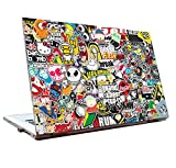 #4: JunkYard Laptop Skins 15.6 inch - Stickers - HD Quality - Dell-Lenovo-Acer-HP