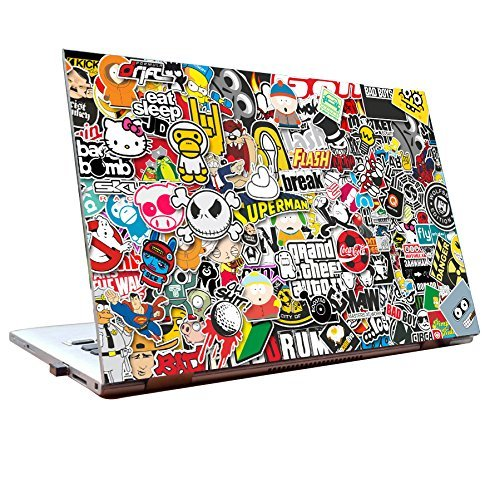 Junkyard laptop skins 15 6 inch stickers hd quality dell lenovo acer