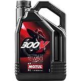 Motul 300V Factory Line 4T 104129 Road Racing, 15W-50, 4 L
