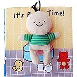 YeahiBaby Libros blandos de tela lavable para Bebé aprendizaje y Educación