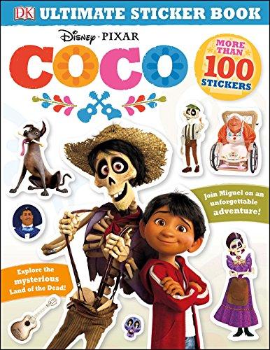 Ultimate Sticker Book: Disney Pixar Coco par DK