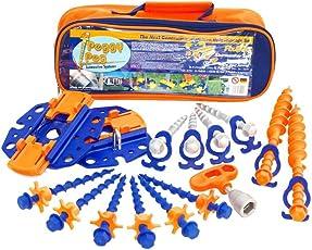 Peggy Peg PP99 Zubehör mit Stop Fix und Go Markisen, Orange, Set Of 16