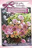 Karte Geburtstag Motiv Glimmer Strauss Blumen Rosen Gerbera Weidenkorb - Liefermenge 5 Stück