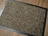 Quarz Braun Dekowe 60 x 40 cm Fußmatten / Sauberlauf Abtreter