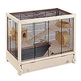 Ferplast Hamsterville Cage pour Petit Animal Noir 60 x 34 x 49 cm