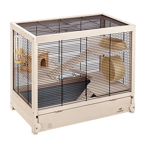 Ferplast gabbia ecosostenibile per criceti e topolini