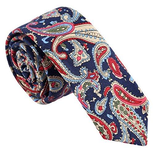 Corbata de Algodón para Hombre