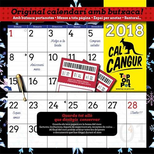 Calendari Cal Cangur 2018