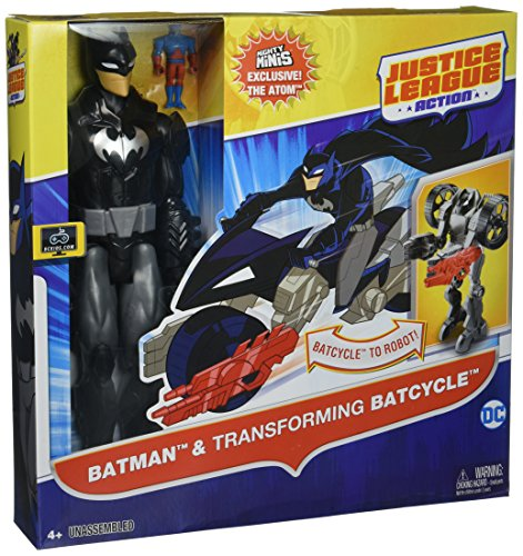 Justice League Action Batman and Transforming Batcycle
