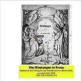 Die Nibelungen in Prosa aus dem Jahr 1860: Buch mit Vortrag -
