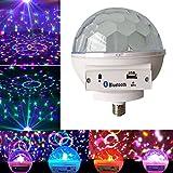 symboat 6W E27LED Disco Licht Bluetooth Leuchtmittel Beleuchtung RGB Lampe Kristall Kugel Effektlampe Lichter