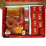 Sankh Mahalaxmi Diwali Pooja Samagri Box, Deepawali Pooja Thali Kit, Pooja Samagri-Dgb-G01