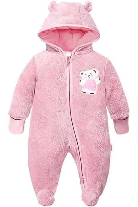 Mamas /& Papas Baby-M/ädchen Pink Quilted Pramsuit Schneeanzug