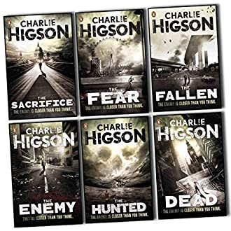 Charlie Higson The Enemy Series 6 Books Collection Pack Set (The Enemy, The Dead, The Fear, The Sacrifies, the Fallen , The Hunted) (Paperback)