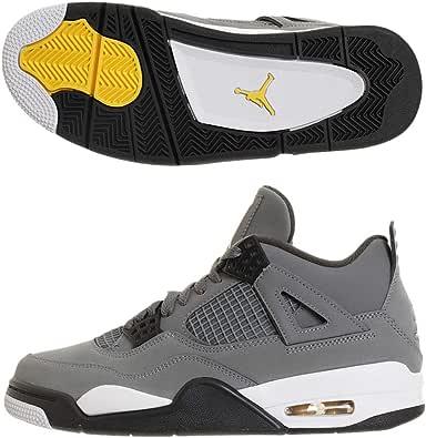 Jordan Chaussures Air 4 Retro Gris 44.5