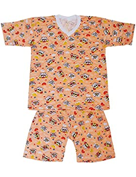 Dazoriginal Pijamas para niños Chicas Pijama mangas cortas 2 - 9 anos Pijama dos piezas 100% algodón pijamas niña...