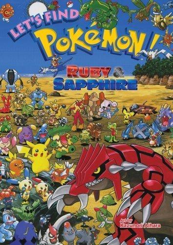Let's Find Pok¨¦mon! Ruby & Sapphire (Pokemon (Viz Paperback)) by Aihara, Kazunori (2009) Hardcover