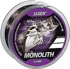 Angelschnur JAXON MONOLITH CARP 0,25-0,35mm/600m Spule Monofile Karpfenschnur (0,018€/m)