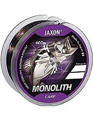 Angel cuerda Jaxon Monolith Carp 0,25–0,35mm/600m Bobina monofile para carpas (0,018€/m), marrón