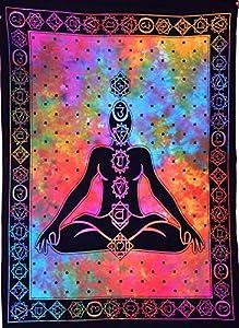 ANJANIYA - Tapiz hippie psicodélico