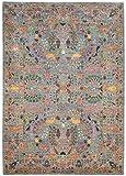 Nain Trading Arijana Klassik Hajjalili 247x174 Orientteppich Teppich Dunkelgrau/Dunkelbraun Handgeknüpft Pakistan