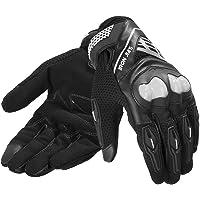 IRON JIA'S Guanti da Moto, Traspirante   Touch Screen   Resistenza   Guanti Protettivo Estivi per Ciclismo Motocross…