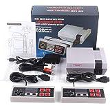 Bonbela Mini 4-knappars TV-spelkonsol retro spelkonsol AV-utgång för NES-konsol integrerade klassiska videospel