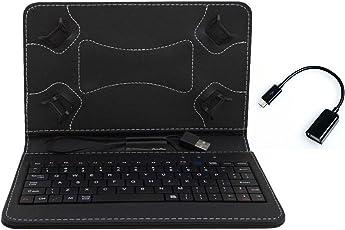 Datawind Ubislate 7Sc Star Keyboard Cover By Angel Trading Black