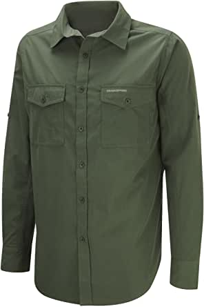 Craghoppers UV Protection Kiwi Men's Outdoor Long Sleeve Shirt Available in