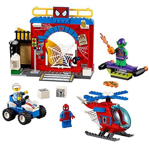 pider-Man Hideout Building Kit by LEGO Juniors (Spiderman Kürbis)